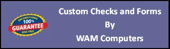CLICK HERE--Custom Checks and Forms